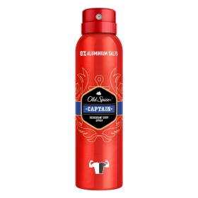 Desodorante spray para hombre Captain Old Spice 150 ml.