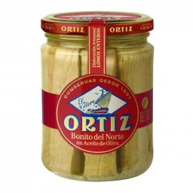 Bonito del norte en aceite de oliva Ortiz 280 g.