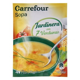 Sopa Jardinera deshidratada