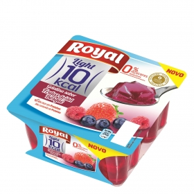 Gelatina sabor frutos del bosque Royal 400 g.