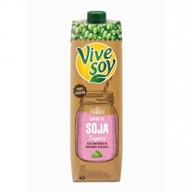 Bebida de soja ligera ViveSoy brik 1 l.