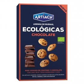 Galletas con pepitas de chocolate ecológicas Artiach 150 g.
