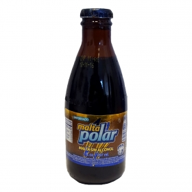 Cerveza Malta Polar sin alcohol botella 20,7 cl.