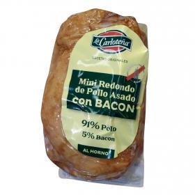Mini redondo de pollo asado con bacon Asados la Carloteña 250 g