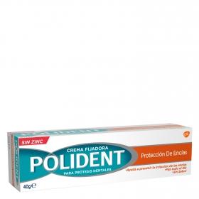 Crema fijadora para prótesis dentales
