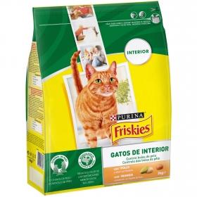 Comida para gatos Interior con Pollo y Verduras