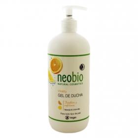 Gel de ducha vitality naranja & limón ecológico Neobio 500 ml.