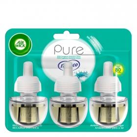 Ambientador eléctrico Pure Nenuco recambio Air Wick 3 ud.