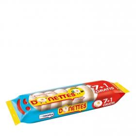 Bollito recubierto de chocolate blanco Donettes 133 g.