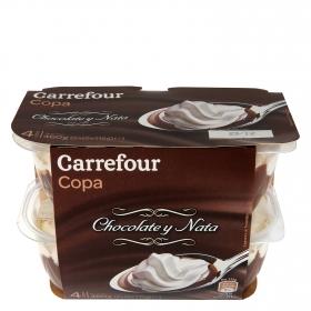 Copa chocolate y nata - Sin Gluten