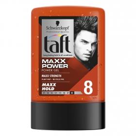 Gel fijador Maxx Power Schwarzkopf Taft 300 ml.