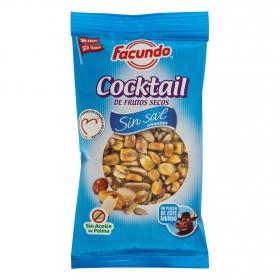 Cocktail de frutos secos sin sal Facundo 150 g.
