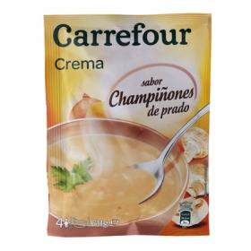 Crema de champiñón deshidratado cremosa