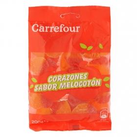Melocotones de goma Carrefour 200 g.