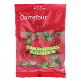 Fresas de goma Carrefour 200 g.