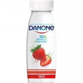 Yogur líquido de fresa Danone 245 g.