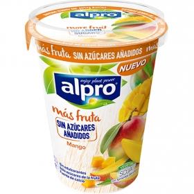 Preparado de soja sabor mango sin azúcar añadido Alpro 500 g.
