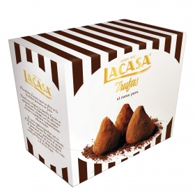 Trufas de cacao puro Lacasa 50 g.
