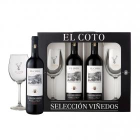 Vino D.O. Rioja Tinto Crianza selección de viñedos 2x75 cl.