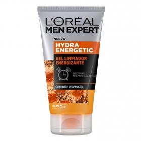 Gel limpiador energizante Men Expert L'Oréal 100 ml.