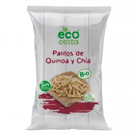 Aperitivo de quinoa y chía ecológico Ecocesta 75 g.