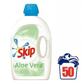 Detergente líquido aloe vera Skip 50 lavados.