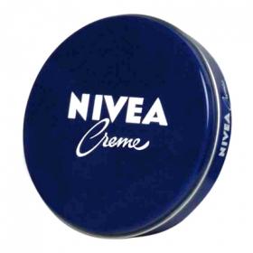 Crema lata Nivea 75 ml.