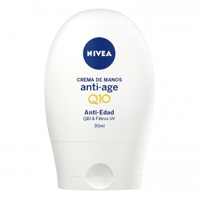 Crema de Manos Anti-Age Nivea Q10 30 ml.