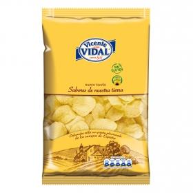 Patatas fritas en aceite de girasol Vicente Vidal sin gluten 300 g.