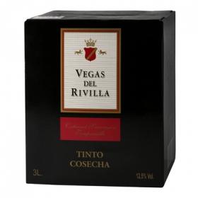 Vino tinto Vegas del Rivilla 3 l.