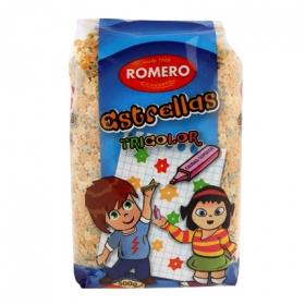 Pasta con forma de Estrella tricolor