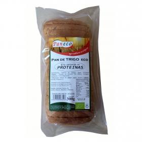Pan de trigo alto en proteínas ecológico Paneco 300 g.