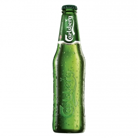 Cerveza Carlsberg botella 33 cl.