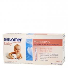 Rhinomer baby monodosis