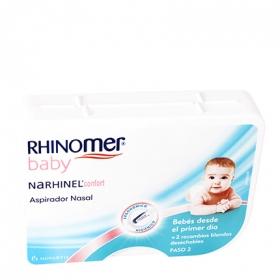 Aspirador nasal Narhinel confort para bebés + 2 recambios