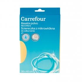 Bayeta para polvo de Microfibra  Carrefour   - Beige