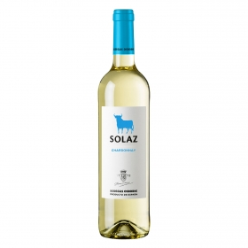 Vino blanco Chardonnay Solaz 75 cl.