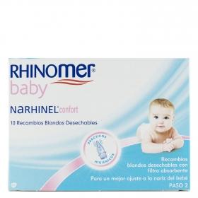 Recambios aspirador nasal Narhinel confort para bebés