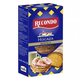 Hogaza de pan rústico recondo 24 rebanadas 240 g.