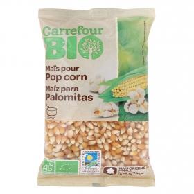 Maíz crudo para palomitas ecológico Carrefour Bio 350 g.
