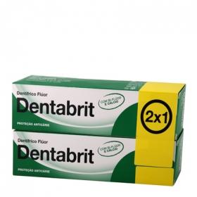 Dentífrico con Flúor Dentabrit pack de 2 unidades de 125 ml.