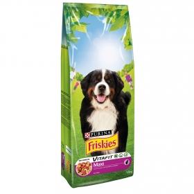 Purina Friskies Vitafit Active Pienso para Perro Maxi Buey 15Kg