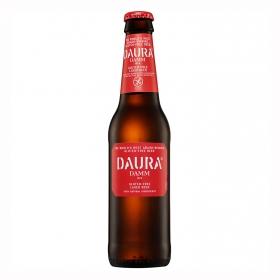 Cerveza Daura sin gluten botella 33 cl.