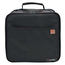 Pack Bolsa portalimentos  IRIS My Lunchbag con 2 contenedores- Negro