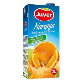 Zumo de naranja Juver brik 2 l.