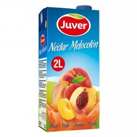 Néctar de melocotón Juver brik 2 l.
