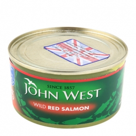 Salmon rojo John West 213 g.