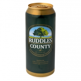 Cerveza Ruddles County English Ale lata 50 cl.
