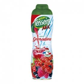 Concentrado de granadina Teisseire sin gas botella 60 cl.