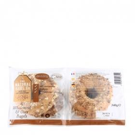 Rosca integral/avena The Natural Bagel 340 g.